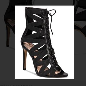 Aldo Gwayviel strappy lace up heels